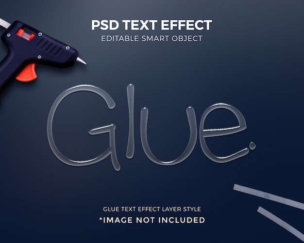 Cole o projeto de maquete de estilo de camada de efeito de texto 3d.