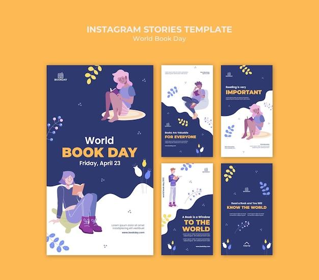 Coleção de histórias do dia mundial do livro