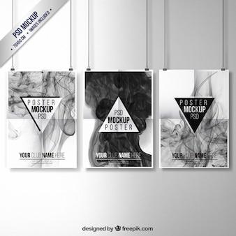 Coleção posters smoky