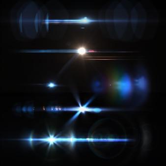 Colorido luzes coleção