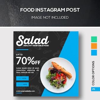 Comida instagram post