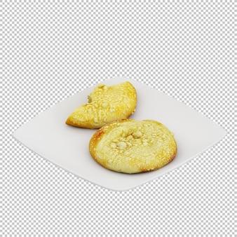 Comida isométrica