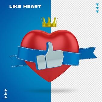 Como coração
