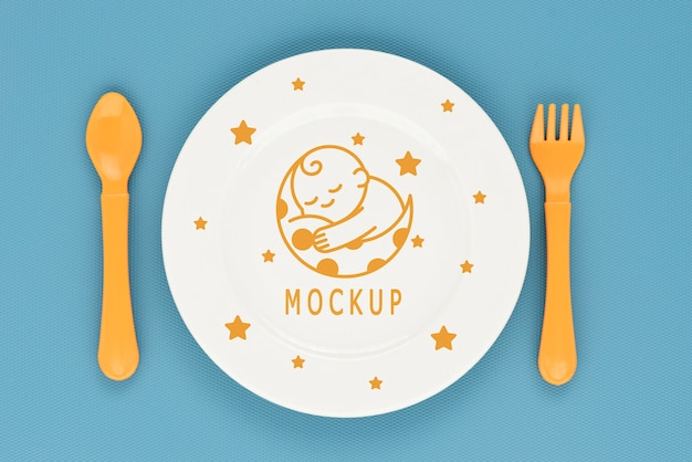 Composição de elementos de alimentação de bebê