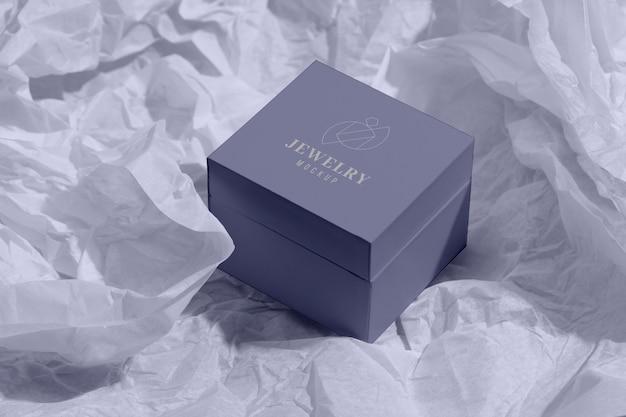 Composição de embalagens de joias luxuosas