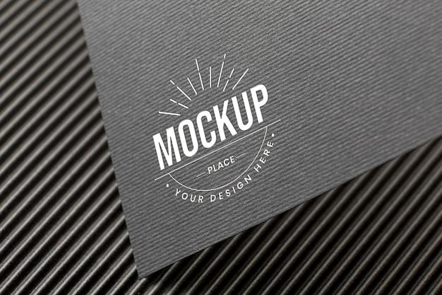 Composição mínima com modelo de cartão de branding da empresa Psd grátis