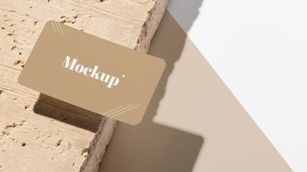 Composição moderna de modelo de cartão de visita