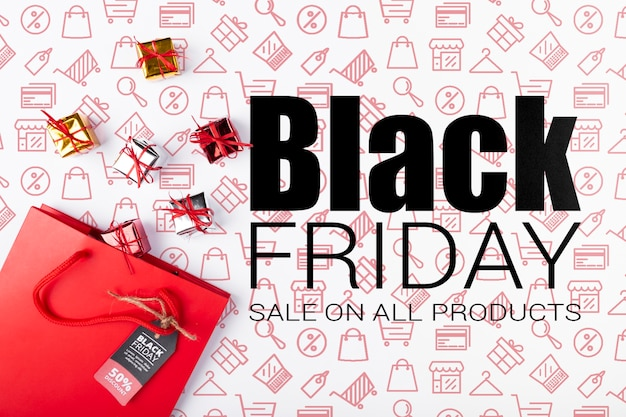Compras disponíveis na sexta-feira negra