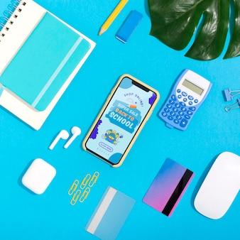 Compras on-line no celular com cartão