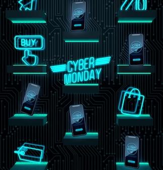 Compre agora oferta de cyber segunda-feira de dispositivos eletrônicos