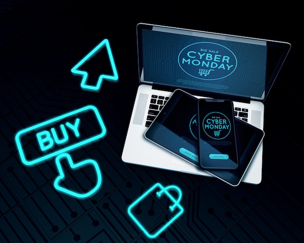 Compre agora venda de eletrônicos cyber segunda-feira
