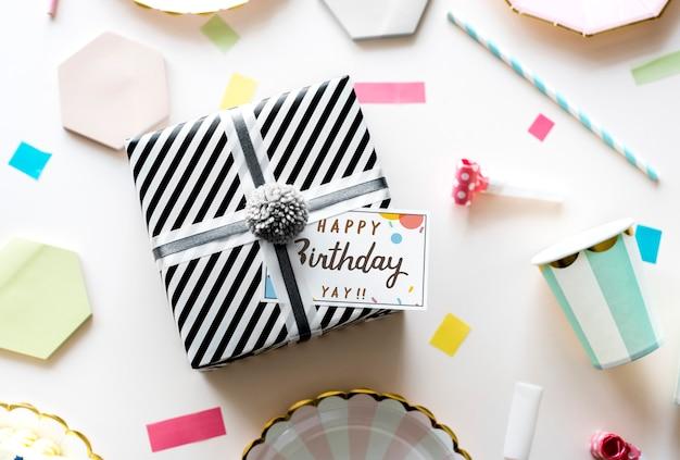 Conceito de celebração de aniversário