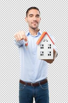 Conceito de compra de uma nova casa