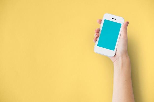 Conceito de conexão de internet do dispositivo digital