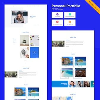 Conceito de interface do usuário do site webhosting
