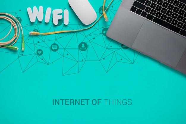 Conexão wi-fi para dispositivos com 5g