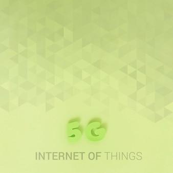Conexão wifi de 5 g para novas tecnologias