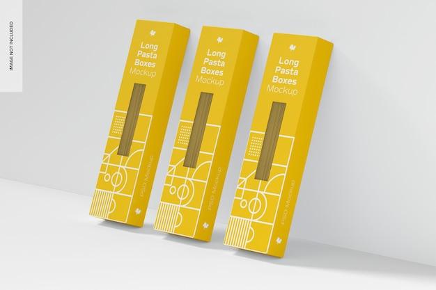 Conjunto de maquete para caixas de massa longa