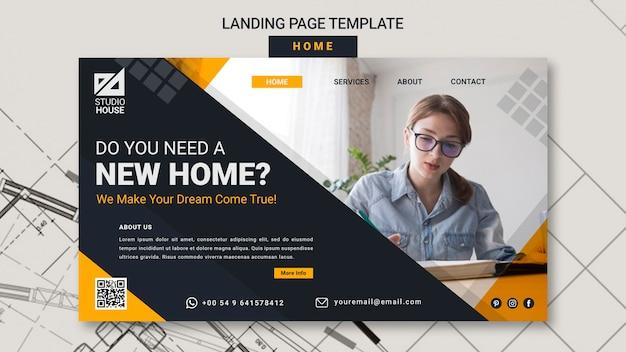 Construindo sua própria página inicial