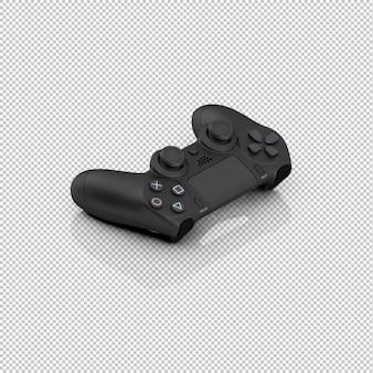 Controlador de jogo isométrico