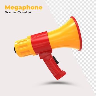 Criador de cena de megafone