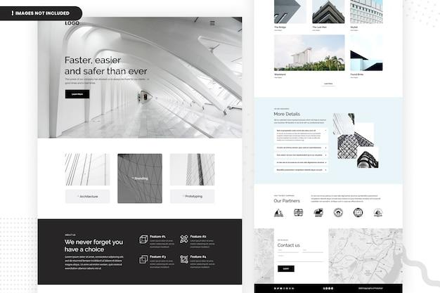Criando página do site