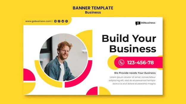 Crie seu modelo de banner de negócios