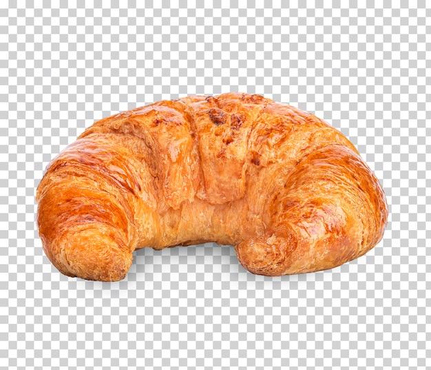 Croissant acabado de fazer isolado premium psd