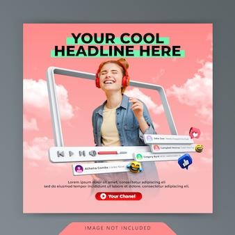Curtir youtube e subscrever promoção