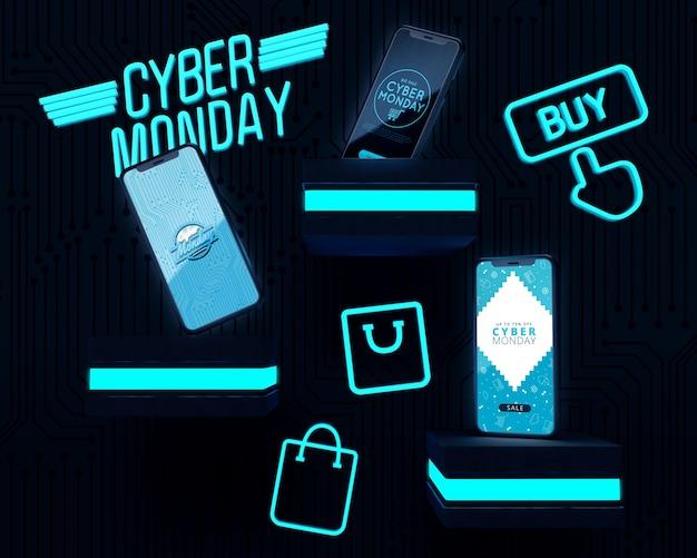 Cyber segunda-feira melhor negócio eletrônico