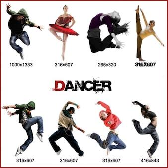 Dançarina pacote