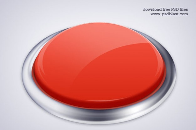 De alta resolução botão ícone psd