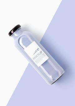 Delicioso smoothie antioxidante da vista superior