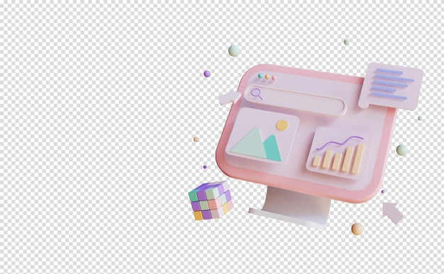 Desenvolvimento de aplicativos móveis de renderização 3d com construção e teste de aplicativos