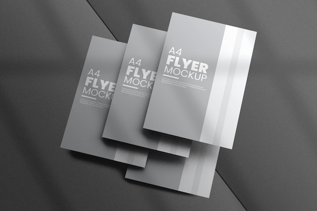 Design criativo de modelo de folheto
