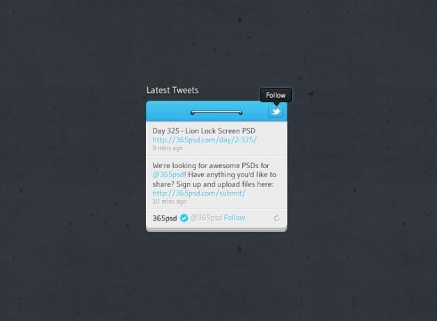 Design de botão seguir os tweets mais recentes twitter twitter botão twitter widget projeto ui widget