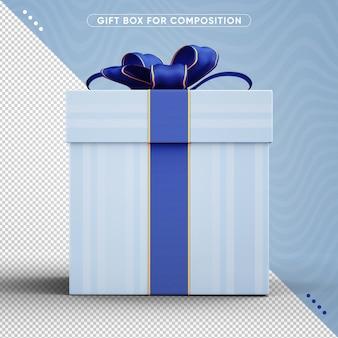 Design de caixa de presente de aniversário