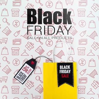 Design de campanha de publicidade sexta-feira negra