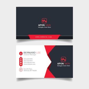 Design de cartão corporativo