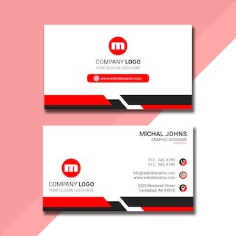 Design de cartão profissional