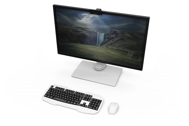 Design de computador realista