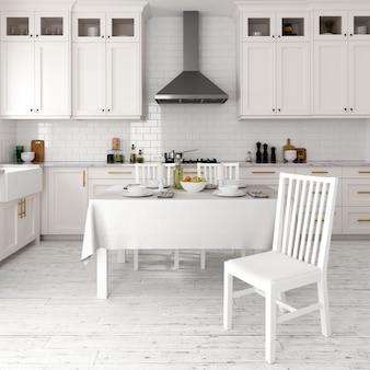 Design de cozinha moderna