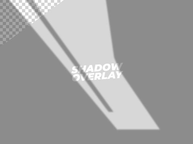 Design de efeito de sobreposição de sombra