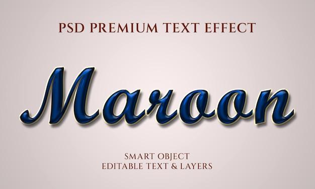 Design de efeito de texto em balão minimalista