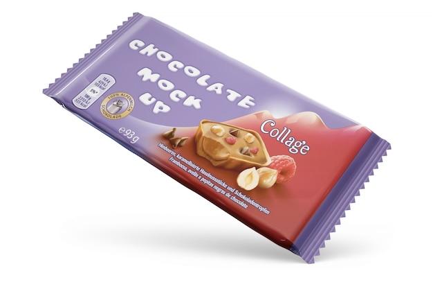 Design de embalagem de chocolate