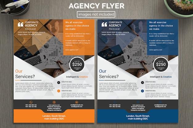 Design de folheto de negócios