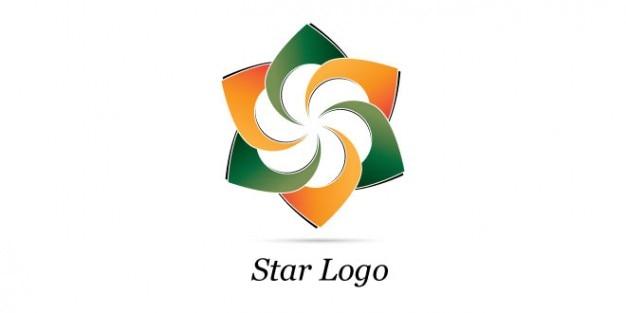 Design de logotipo estrela criativo
