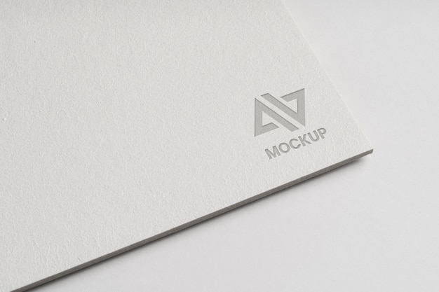 Design de logotipo mock-up para empresas