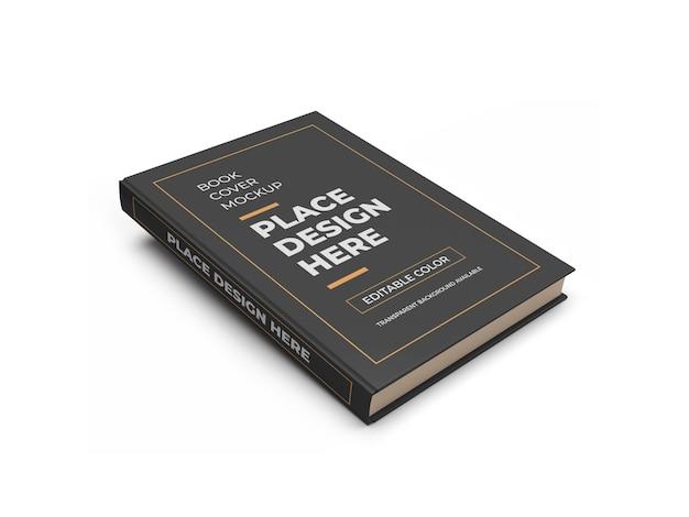 Design de maquete 3d da capa do livro