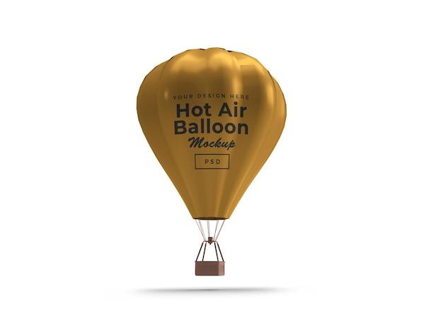 Design de maquete 3d de balão de ar quente
